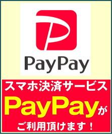 PayPayがご利用頂けます。